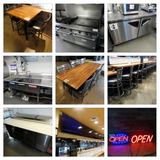 Online Only Restaurant/Bar Complete Business Liquidation Absolute Auction