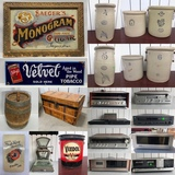 Huge 400+ Lot ONLINE Timed Vintage Antiques & Advertising Auction