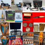 Vintage Gambling, Antiques, New Firearms & Knives, Cordless Mowers Timed Auction