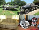 Greer, SC - Chevrolet Truck, Jon Boat, Tools, Furnishings & More
