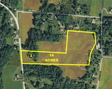 16 Acre Rural Building Lot Available - Selma Pike, Springfield