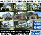 Online Only Bank Owned Investment Properties