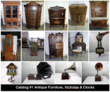 Huge Estate Featuring 4 Online Only Antique & Collectible Auctions
