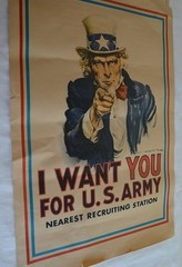 Uncle Sam:  I Want You!
