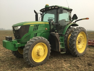 JD 6195R Tractor-PREMIUM MFWD w/ GPS