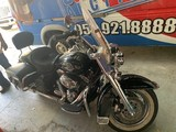 MOTORCYCLE / VEHICLES / SWEEPER / TRAILER