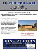 HOME LISTED FOR SALE IN BURNS FLAT, OK