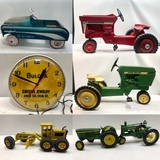 Thanksgiving Vintage Toys, Antiques & Advertising Special Online Auction