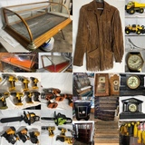 Longtime South Omaha Pawn Shop Storage Area Antiques & Tools Closeout