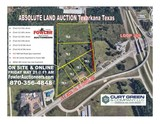 ABSOLUTE COMMERCIAL REAL ESTATE LAND AUCTION