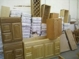 Large Quantity Brand New Kitchen Cabinets