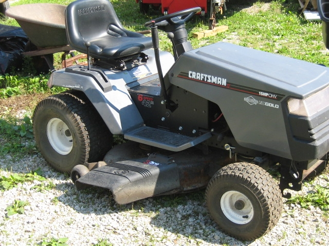 how to change oil filter on craftsman lawn tractor