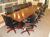 FDIC TWO LOCATION AUCTION! Executive Office Furniture/ Art/ Lighting /Printers/File Cabinets/ and More!!