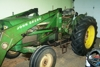 John Deere 1020D/W with loader: