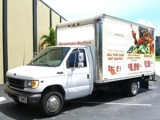 1999 Ford E350 Super Duty V8 Diesel Box Truck