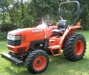 Kubota, Orange, L2800, 4WD, Manual Trans., PTO#52062, 370 Hours (Left Side):
