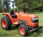 Kubota, Orange, L2800, 4WD, Manual Trans., PTO#52062, 370 Hours (Right Side):