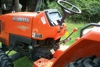Kubota, Orange, L2800, 4WD, Manual Trans., PTO#52062, 370 Hours (Up Close):