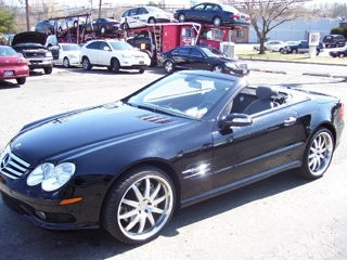 2006 MERCEDES BENZ SL600 V-12