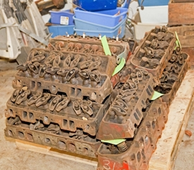 Cylinder Heads: Small and big block Chevrolet cylinder heads