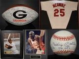 SPORT MEMORABILIA AUCTION - PRIVATE COLLECTION OF FARRISH HOLBROOK