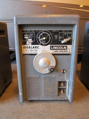Lincoln Welders For Sale >> (6) Lincoln Idealarc Model TM-300/300 AC/DC Arc Welder ...