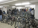 UC Davis University of California - Unclaimed Bikes