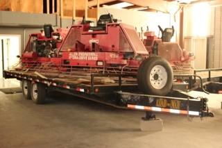 Concrete Finishers (5) & Equipment Trailers (2)