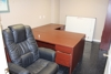 Office Furnishings & Equipment: Desks, Chairs, Small Conference Table, Refrigerator, and Much More!