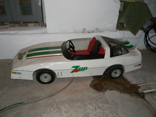 7UP Go cart: