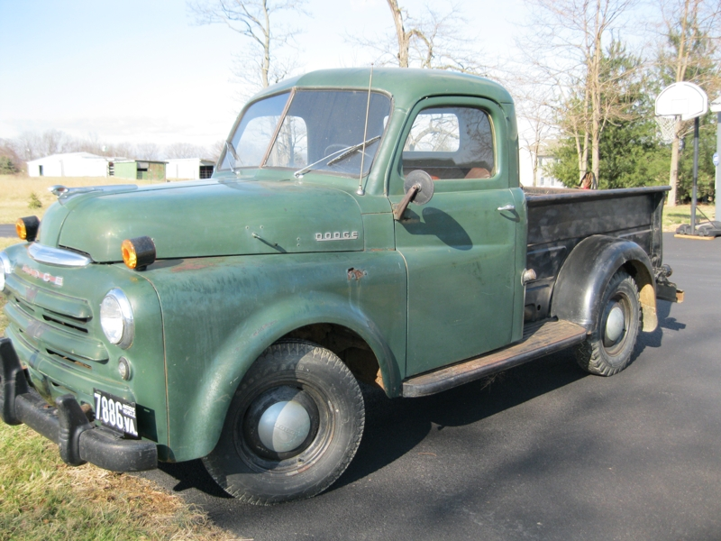 Craig auction company upcoming auctions for 1949 dodge 5 window pickup truck