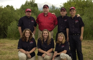RMEB's Colorado Auctioneers and Staff at a Colorado Real Estate Auction