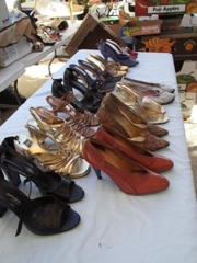Vintage Designer Shoes Sold by the Lot: Dealers sit up, pay attention and put this auction on your calendar. Hundreds of designer purses, shoes, belts, silks, smalls, coats everything you can imagine... Hoarded and impeccably stored since the 1960's