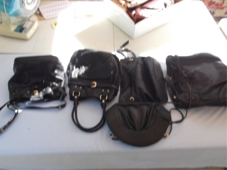 "Dealer & Collector Sized Lots Of Vintage Purses: There are enough purses to haven an all day ""onsey"" auction but we hope to sell through them in about a 1/2 hour"
