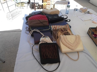 Vintage Designer Purses Sold by the Lot: Another lot of vintage purses that will be sold to one lucky bidder at their high bid price. No minimums or reserves its a real auction folks.