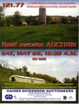 REAL ESTATE AUCTION-RUSSELL COUNTY, VA