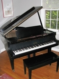 Baby Grand Piano, Quality Furniture, Estate Jewelry & Comics