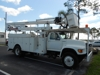 1998 FORD F SERIES 6500 DSL/SIMON TELELECT HI RANGER #5TC 500LB BUCKET/1K lb. JIB CRANE CAPACITY 52' BOOM TRUCK, 5.9L CUMMINGS DSL-68,985 ORIGINAL MILES, AIR BRAKES, A/C, A/T, TIRES LIKE NEW, BOOM/BUCKET FULLY OPERATIONAL, READY FOR WORK!: