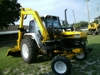 1997 - 6640 SLE NEW HOLLAND W/ SIDE BUSH HOG SD 89B: