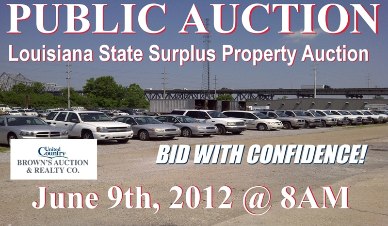 admin government surplus property auctions schedule