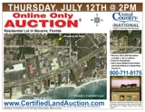 Navarre Florida Real Estate Auction