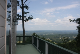 Incredible Brow Views From Lookout Mountain