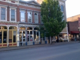 2-STORY BRICK COMMERCIAL BUILDING W/ RETAIL SPACE AND RESIDENTIAL APARTMENT