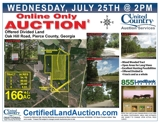Hunting Land For Sale Georgia Auction