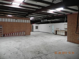 Interior Warehouse Area