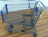 Shopping carts used metal small-$40