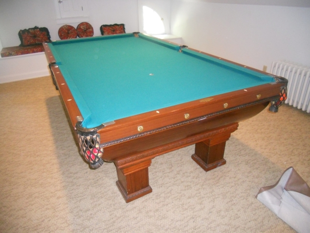 BRAZELL MOVING AUCTION Higgins Auctions - Brunswick monarch pool table