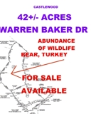 42.795 ACRES FOR SALE BY LISTING