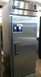 True single door stainless steel cafe cooler