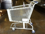 Shopping carts small plastic